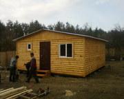 Бытовки строительные, дачные дома, вагончики строительные