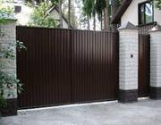 Профнастил на забор,  ворота,  ларек,  гараж. Цена от 85 грн/м2